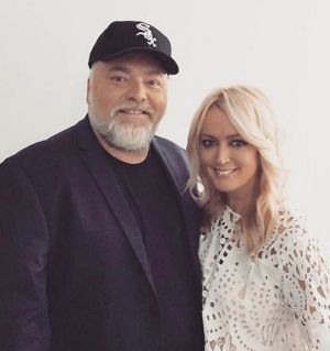 "Radio hosts Kyle Sandilands and Jackie ""O"" Henderson."