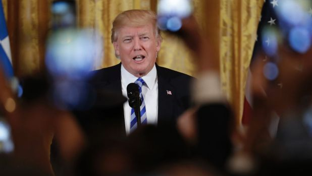 The Trump administration is increasingly showing itself to be breathtakingly incompetent: US President Donald Trump.