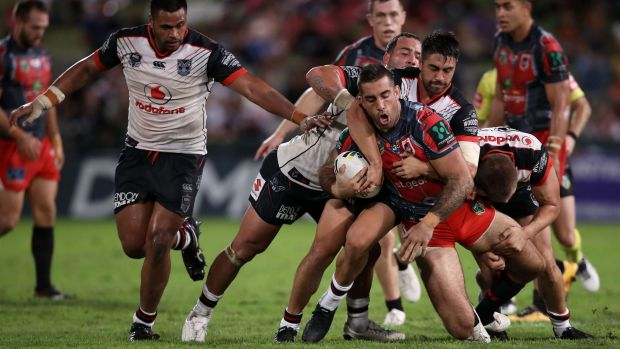 Dragon's Lair: St George-Illawarra extend their run against the New Zealand Warriors at Kogarah, dating back to 2003.