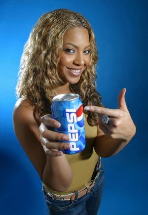 Beyonce's promotion of Pepsi is rumoured to have netted the singer $50 million.