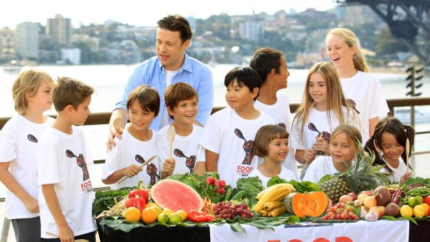 Jamie Oliver has been a long-standing campaigner for food education for children.