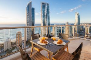 The Gold Coast saw a year-on-year rise of 7.4 per cent in its median house price.