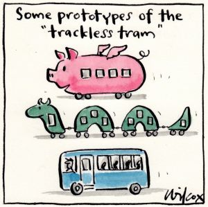Illustration by Cathy Wilcox.