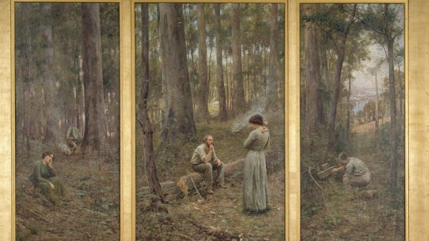 analysis the pioneer by frederick mccubbin Responding to source analysis questions  frederick mccubbin:  on his luck the pioneer arthur streeton: a surveyor's.
