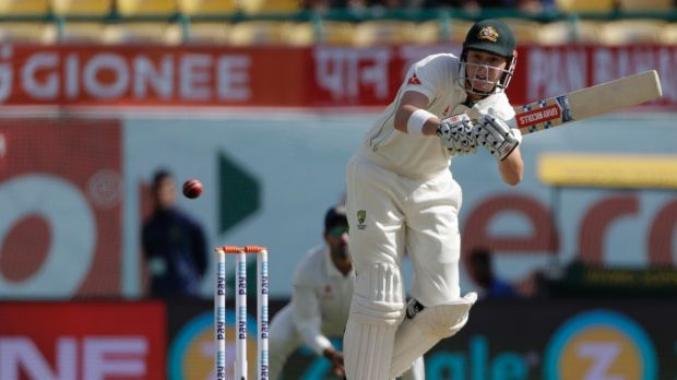 Not as I do: Matt Renshaw may have been brought up by dad Dr Ian Renshaw as a traditional opener, but the latter is ...