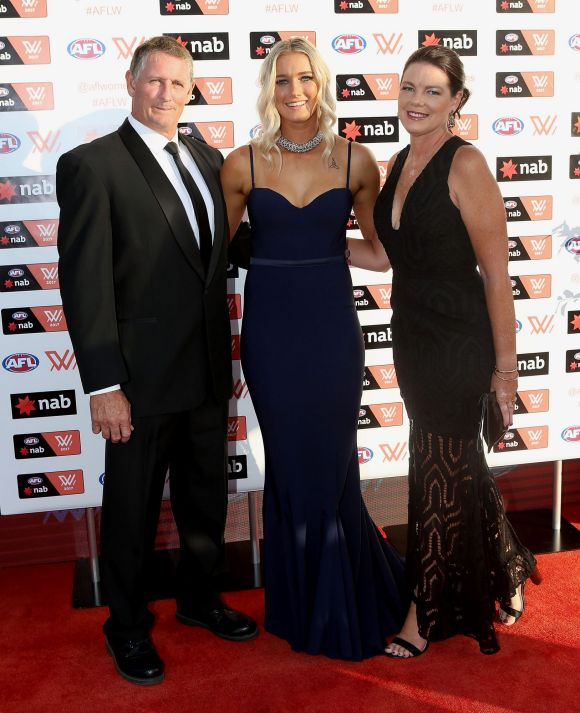 Tayla Harris: AFLW Players And Partners Shine At The W Awards
