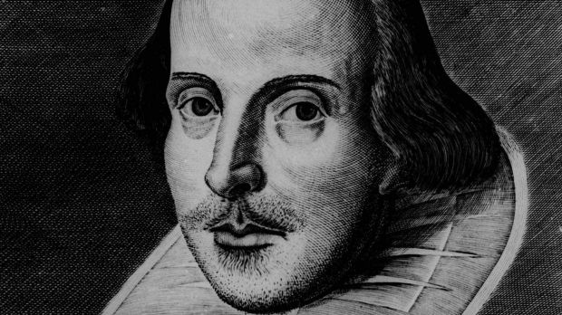 English playwright William Shakespeare.