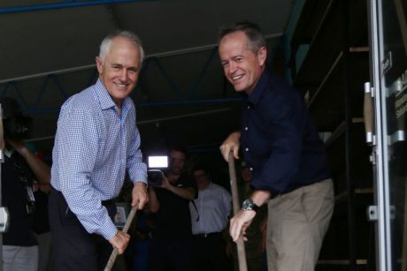 Cyclone Debbie provided a rare and overlooked moment of bipartisanship in today's politics.