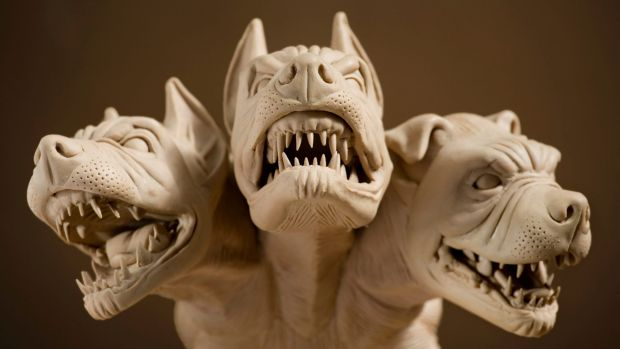 """Cerberus, the """"hound of Hades"""" in Greek mythology, had three heads ... much like Information Commissioner Timothy Pilgrim."""