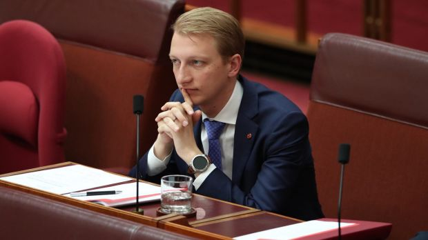Liberal senator James Paterson.
