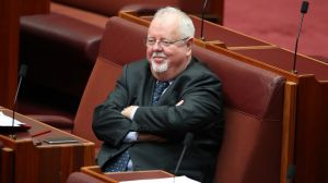Coalition senator Barry O'Sullivan