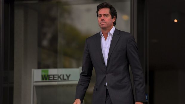 AFL chief Gillon McLachlan and the AFL commission will hear from Port Adelaide on Tuesday regarding their plans for China.