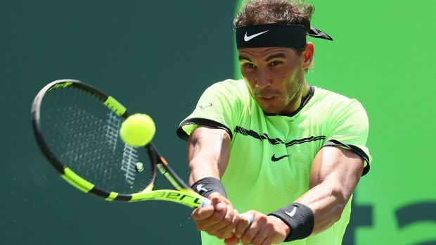 Taking it slow: Rafael Nadal is one of the players who has consistently taken longer than allowed between points.