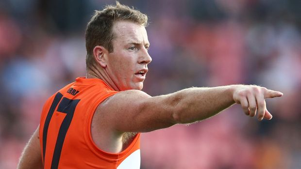 """GWS star Steve Johnson tweeted on Friday that his car had been involved in a """"high speed pursuit across Sydney""""."""