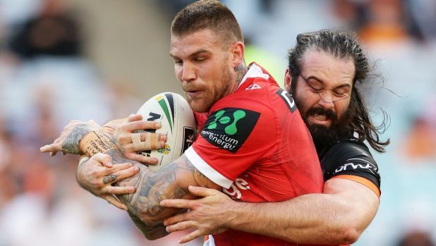 Heading to Cronulla: Josh Dugan.