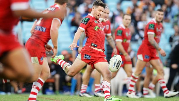 Gareth Widdop played a million-dollar performance against the Tigers - but he isn't asking for a million.