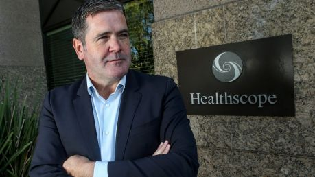 Healthscope CEO Gordon Ballantyne expects 2018 full-year operating EBITDA for the company's hospitals division to be ...