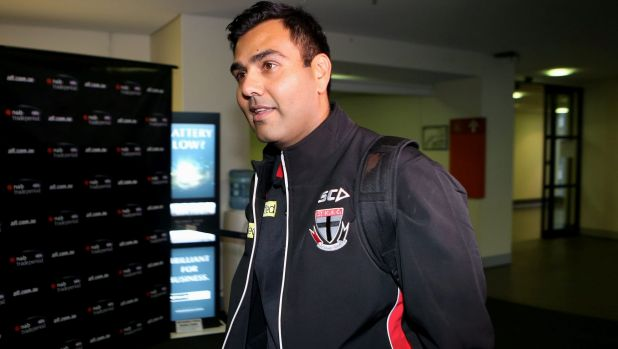 In the mix for the AFL footy boss role is Ameet Bains