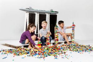 Building Towers of Tomorrow with LEGO® Bricks.