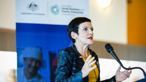 Small business ombudsman Kate Carnell is keeping an eye on Amazon's entry to Australia.