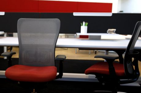 Hot desking is a trend in workplaces but is despised by some private sector staff.