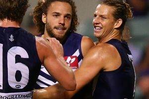Griffin Logue played his best game to date for the Dockers last week.