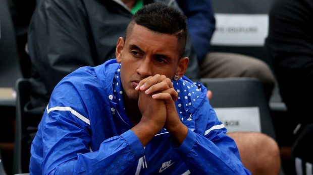 Nick Kyrgios: Happy about the upcoming grasscourt season.