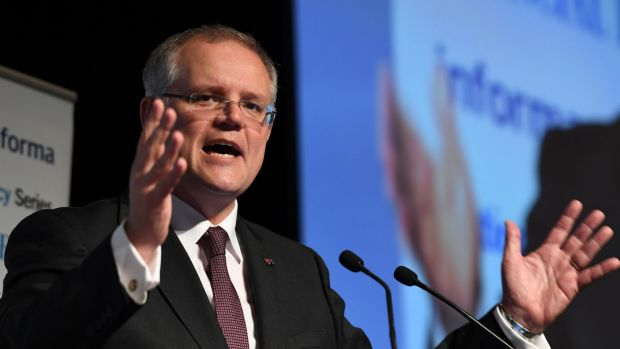 """Treasurer Scott Morrison says they are making multinationals pay their """"fair share""""."""