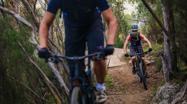 Craig Trevallion and Jay Williams explore the extension of the Thredbo Valley Track for the first time.