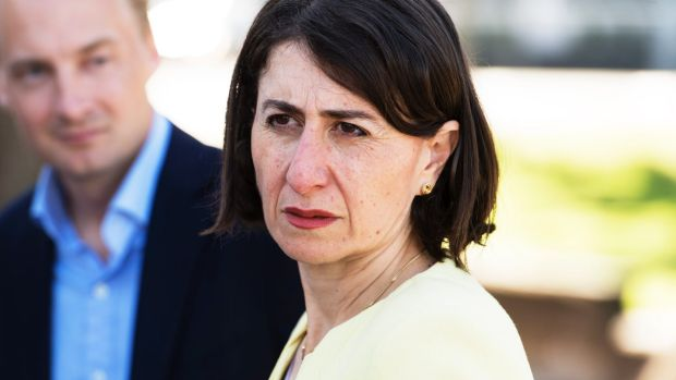Premier Gladys Berejiklian changed her tune and thanked voters for trusting a candidate colleagues had been preparing to ...