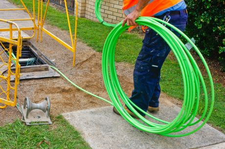 """Kerb enthusiasm: Labor says it needs to accept the """"realities on the ground"""" of the National Broadband Network."""