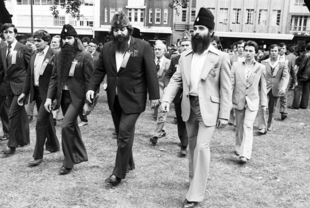 Marchers in Sydney in 1979.