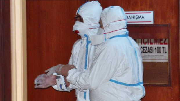 WHO experts took part in autopsies on victims of the chemical attack in a hospital in Adana, Turkey, on Wednesday.
