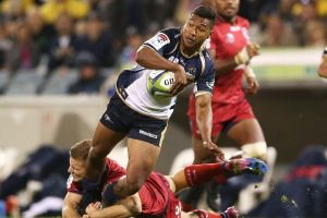 Aidan Toua may have played his last game for the Brumbies.