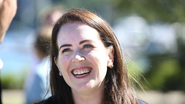 Felicity Wilson was smiling following a successful byelection result.