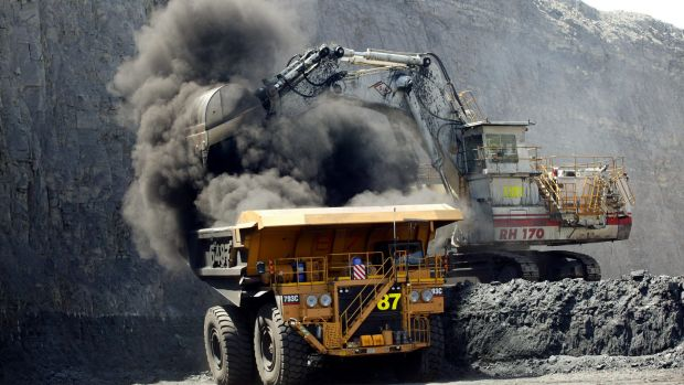 The big four banks' lending to coal mining is dropping, as lenders run down carbon-intensive exposure.