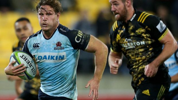 Wary: Waratahs skipper Michael Hooper wants a fast start from his team against the Kings.