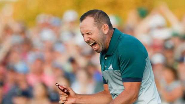 Green machine: Sergio Garcia wins the Masters. It was hard to think of a touring professional who deserved the ...