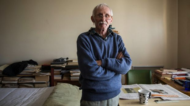 Peter Bowmar, 66, has lived in the Matavai tower for 14 years.