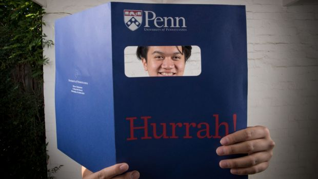 Balwyn teenager Nathan Huynh is heading to the ivy league University of Pennsylvania this year.