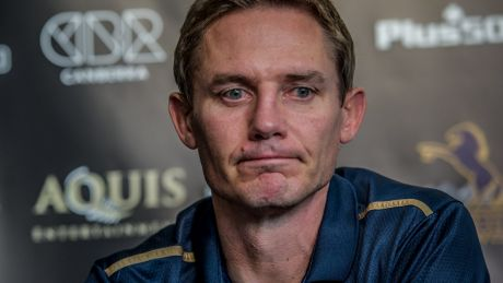 ACT Brumbies coach Stephen Larkham was left disappointed with a poor Canberra crowd for Friday's quarter-final.