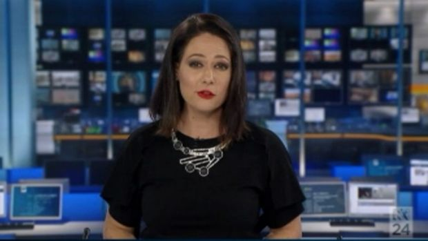 Exelby continued to anchor the ABC's rolling coverage for several more hours after the blooper.
