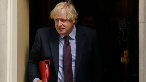 Boris Johnson, UK foreign secretary, cancelled a planned visit to Moscow.