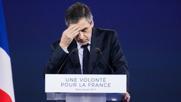 Francois Fillon, France's Republican presidential candidate, has called for the election to be suspended.