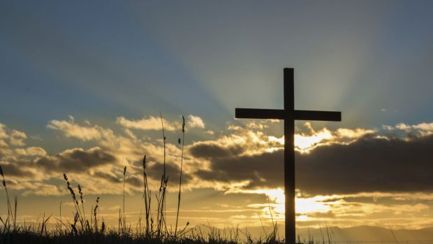 The cross reconciles spiritual conflict.