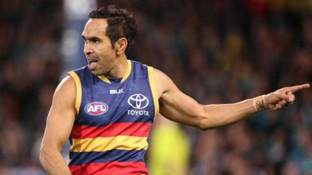 Adelaide forward Eddie Betts, who was subjected to racist abuse at the weekend.
