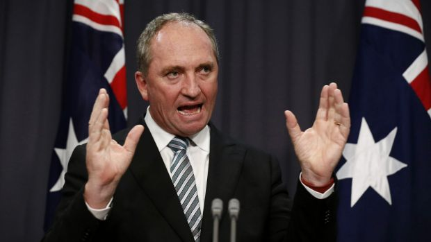 Nationals leader Barnaby Joyce was the driving force behind the APVMA's controversial forced move to his New England ...