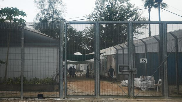 The regional processing centre on Manus Island, pictured in April.