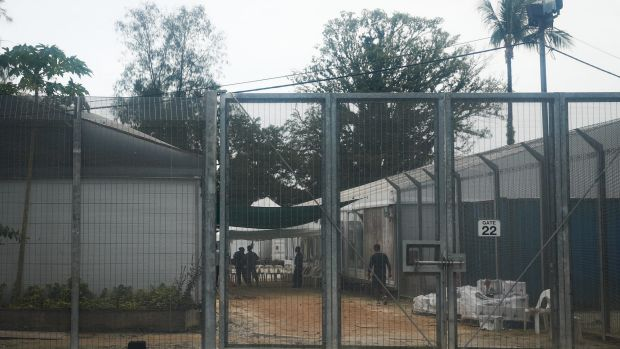 The now closed detention centre on Manus Island.
