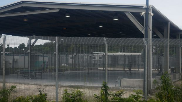 The Offshore Processing Centre on Manus Island in Papua New Guinea.